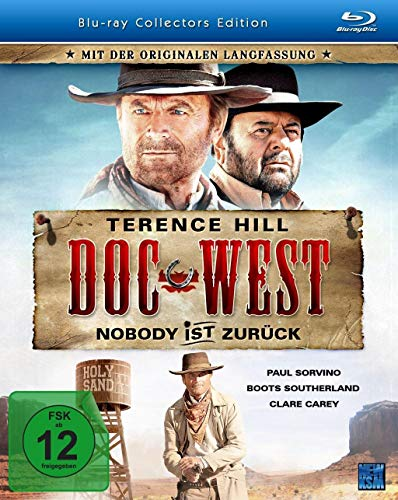Doc West - Nobody ist zurück (Collectors Edition) [Blu-ray]