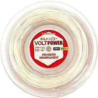 WINNING SHOT (ウィニングショット) ボルトパワー125 (VOLT POWER) (ゲージ:1.25mm) 120mロールガット 硬式テニス ストリング