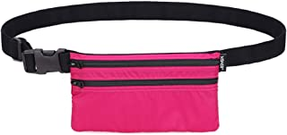 WGYYB Fanny Pack for Women Waist Bag, Portable New Summer Mobile Phone Pockets Men and Women Mini Pocket Purse Wallet Passport Bag Running Hiking Bag bun Bags (Color : Pink)