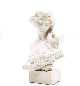 Artemis Statue Resin Sculptures Statues, Office Bookshelf Decor, 7CM Portrait Sculpture Resin Handcraft Home Decor Gift for Friends