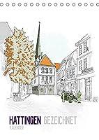 HATTINGEN GEZEICHNET (Tischkalender 2022 DIN A5 hoch): Ein Kalender mit Zeichnungen der Sehenswuerdigkeiten Hattingens (Monatskalender, 14 Seiten )