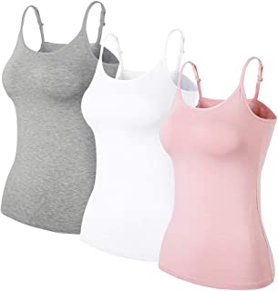 Best cotton camisole with bra Reviews