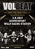 Volbeat - Seal The Deal, Schweinfurt 2017 »