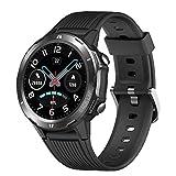 Lintelek SmartWatch Touchscreen Fitness Tracker 5ATM Wasserdicht mit Pulsuhren Schrittzähler Smart Watch Schlafmonitor Stoppuhr für Damen Herren