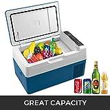 XXRUG Portátil pequeña Nevera, 22L Compresor de Coches Mini frigorífico congelador del Coche del vehículo eléctrico Camión Mini refrigerador de Viaje de conducción al Aire Libre Pesca Inicio