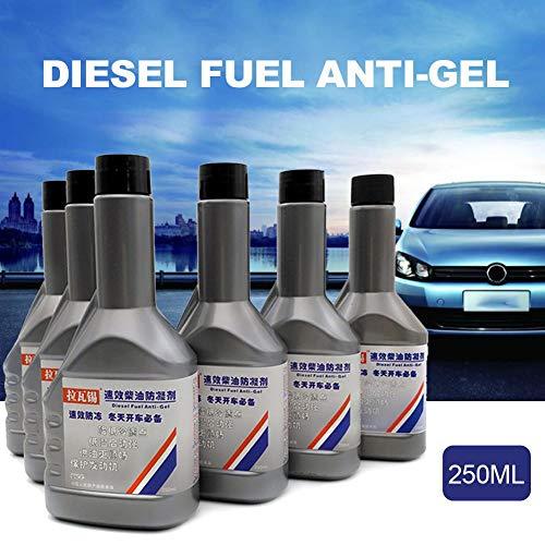 Depruies Benzinkraftstoffadditive Anti-Gel-Additiv für Dieselkraftstoff zur Verbesserung der Fluidität Wachsprävention für Dieselkraftstoff