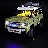 LIGHTAILING Light Set for (Technic Land Rover Defender) Building Blocks Model - Led Light kit Compatible with Lego 42110(NOT Included The Model)