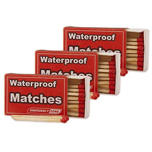 Emergency Zone Matches Waterproof & Wind/Waterproof Matches. Stormproof. Bulk Options. Available in...
