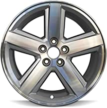 Road Ready Car Wheel For 2008-2010 Dodge Avenger 18 Inch 5 Lug Silver Aluminum Rim Fits R18 Tire - Exact OEM Replacement - Full-Size Spare