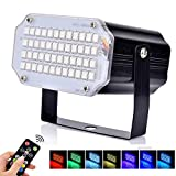 BASEIN Strobe Lights, 48 LED Disco Effect Lights, Party Light with Remote Control