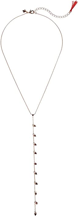 Rebecca Minkoff - Floating Triangles Y-Necklace
