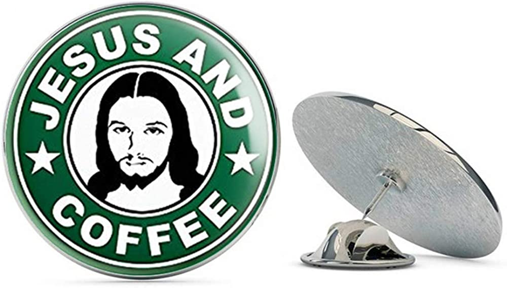 NYC Jewelers Spring new work Green Jesus and Coffee Challenge the lowest price Christ Logo God P Christian