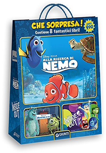 Disney Pixar. Alla ricerca di Nemo-Monsters & Co.-Inside out shopper: 1