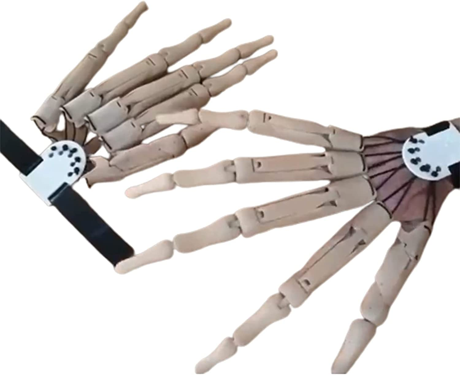 Halloween Articulated Max 73% OFF Fingers 3D Cash special price Printed Finger Ext
