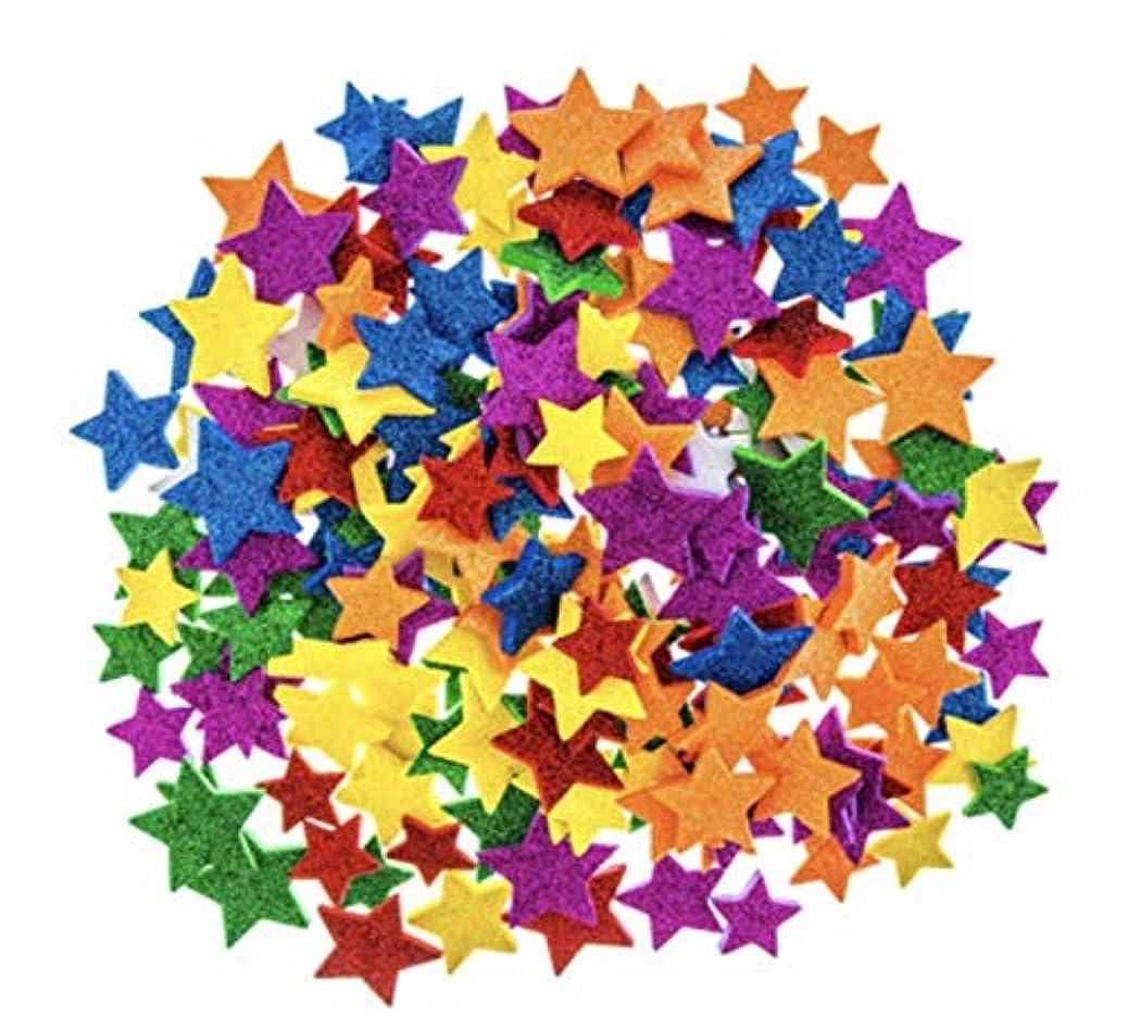234 Piece Foam Glitter Star Stickers trooobgwhk