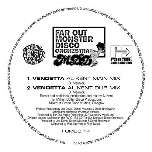 Vendetta (feat. Arthur Verocai) [Al Kent Dub Mix]