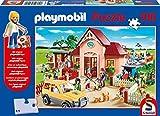 Playmobil: Tierarztpraxis. Puzzle 100 Teile. Mit Original Figur