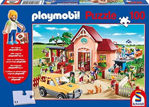 Schmidt Spiele Playmobil: Tierarztpraxis Puzzle -