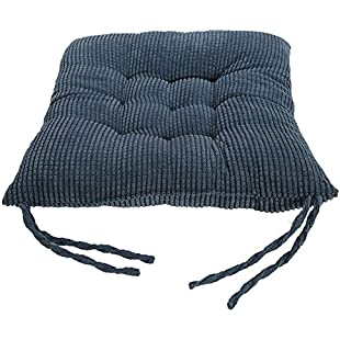 Lifemaison Soft Chair Cushion Seat Pad Pillow Kitchen Garden Dining Home Office Decoration Blue