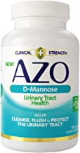 AZO D-Mannose Urinary Tract Health, Cleanse Flush & Protect The Urinary Tract*, Clinical Strength D-Mannose, Drug-Free Pro...
