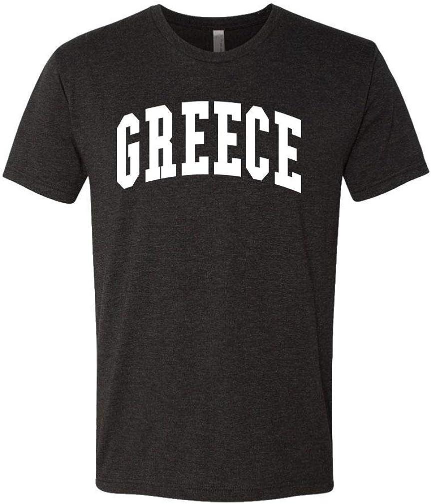 Greece - Country Pride Homeland Nation - Unisex Next Level Tee, 3XL, TRI-Blend Black