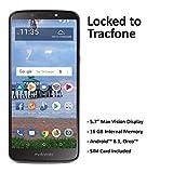 Tracfone Carrier-Locked Motorola Moto e5 4G LTE Prepaid Smartphone - Black - 16GB - Sim Card Included - CDMA
