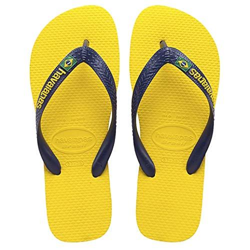Sandalias amarillas havaianas unisex