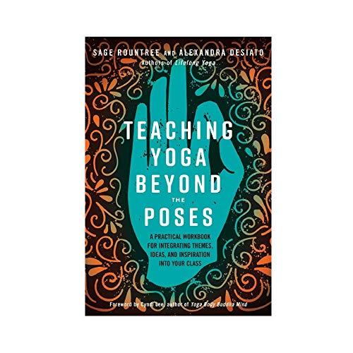 Teaching Yoga Beyond The Poses - Póster de lienzo para pared (50 x 75 cm)