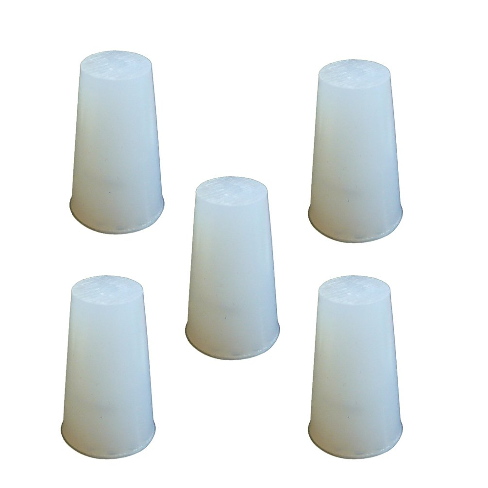 PUL FACTORY Solid Silicone Now free shipping Stopper Size Manufacturer regenerated product #6 - Pack of 5