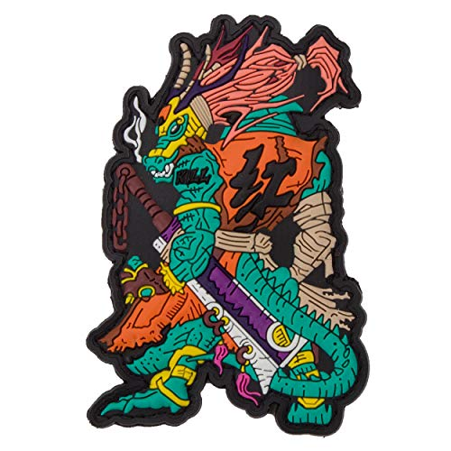 Mr. Tong Chinese Zodiac Sign Dragon - PVC Rubber Patch