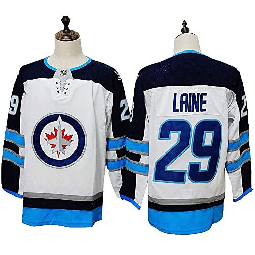 JesUsAvila Pat-rik Lai.ne#29 NHL Eishockey Trikot Herren Sweatshirts Atmungsaktiv T-Shirt Genähte Bekleidung Round neck/D/XXXL