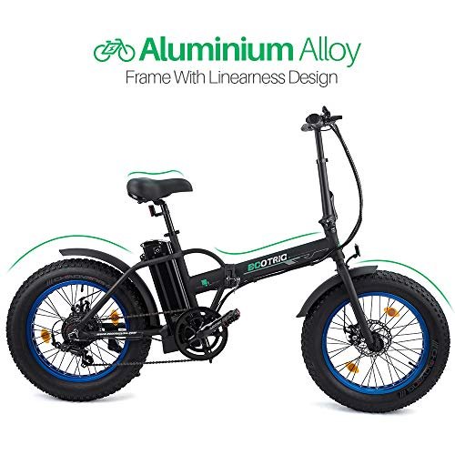 Ecotric Folding Electric Bike