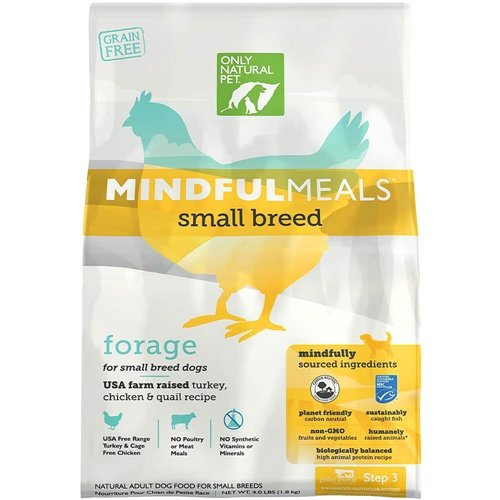 Only Natural Pet MindfulMeals Forage Small Breed 4 lb Bag