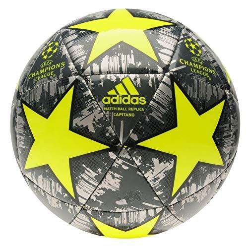 adidas Champions League Finale Fußball Silber/gelb Größe 5 DX1532