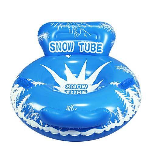 BESPORTBLE Aufblasbare Schlitten Bob Schneeschlitten Schneereifen Schneerohr Schneeschlauch Luftmatratze Sand Gras Rutscher für Kinder Erwachsene Outdoor Wintersport