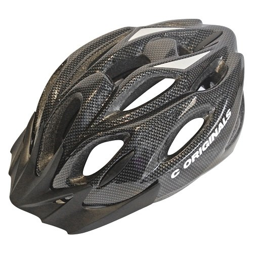 C ORIGINALS S380 BIKE HELMET CYCLE HELMET CARBON BLACK