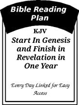 Bible Reading Plan, Read the Bible in a Year, Start from Any Day [Annotated]