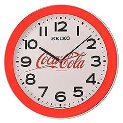 Seiko 14 Coca-Cola Red Wall Clock