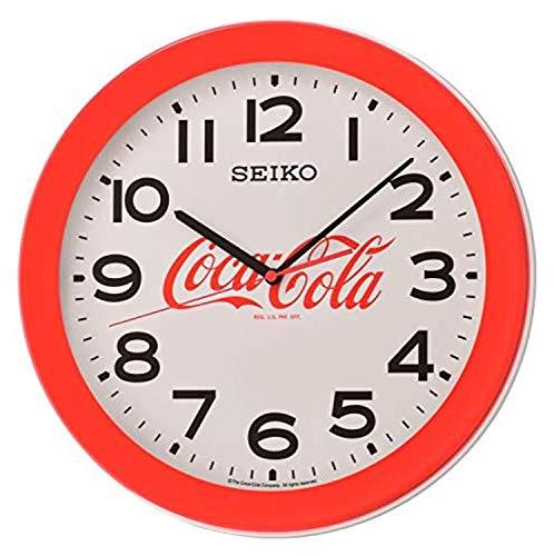 Seiko Coca-Cola - Orologio da parete, colore: Rosso