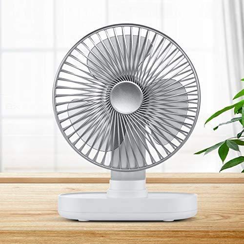 Electric Fans D77 4W Micro USB & USB-C / TYPE-C RECARGABLE Portátil de cuatro velocidades Ajustable Automático Automático Agitando el refrigerador del ventilador, B