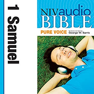 Pure Voice Audio Bible - New International Version, NIV (Narrated by George W. Sarris): (08) 1 Samuel audiobook cover art