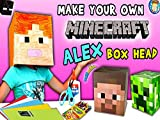 How To Make A Minecraft Alex Box Head! FUNnel Vision Diy Cosplay Tutorial With Lexi.