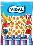 Vidal - Huevos Fritos - Caramelo de Goma, Mezcla de Frutas, 1000 Gramos