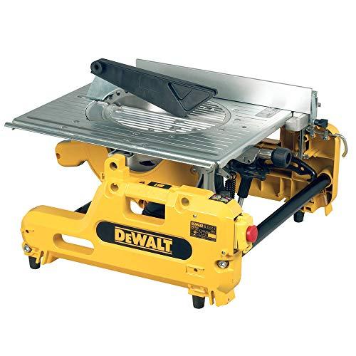 DeWalt DW743N-QS Scie A Table et Onglets Retournable