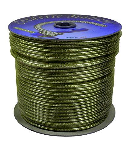 Corderie Italiane 002044499 Cable para tendedero, Acero, Latón, Transparente, 4 mm