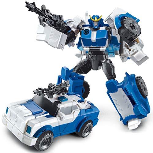 Siyushop Jouet Transformers, Man Auto Model, Heroes Rescue Bots, Jouets Deformed Car Les Enfants, Modèle De Robot De Combat, Enfants De 3 Ans Et Plus ( Color : 7 )