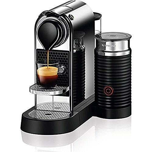 Nestle Nespresso Nespresso C122-US-CH-NE, Chrome Citiz & Milk Espresso Machine, 2.6