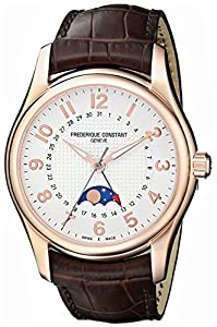 Frederique Constant Men's FC330RM6B4 Run About Analog Display Swiss Automatic Brown Watch Sale and Online and review