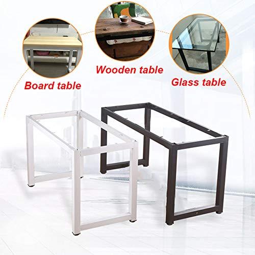 Moderne Industrial Metall tischgestell Tischbeine, für Laminat, Holzplatte, Glasplatte, Länge: 77-137 cm (18,5-30 Zoll), Höhe: 71,5 cm (28 Zoll)