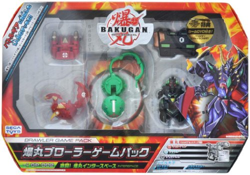 BAKUGAN GP-002 Brawler Game Pack Battle! Bakugan Inter space Set [JAPAN] (japan import)